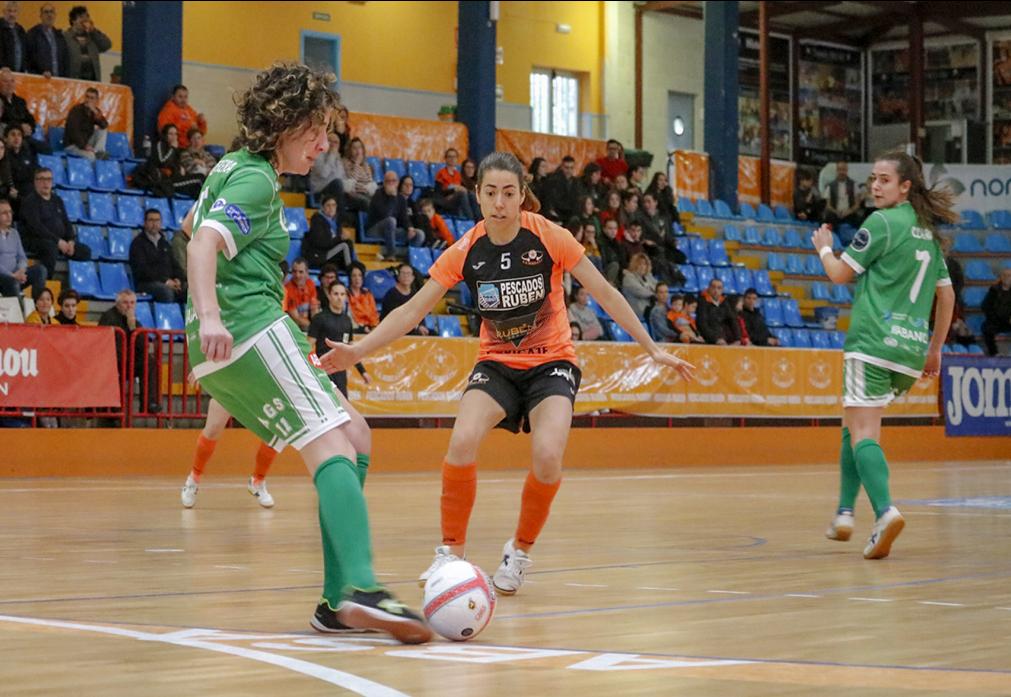 Crónica: Pescados Rubén Burela FS - Cidade de As Burgas FSF. Jornada 19ª. 1ª División Fútbol Sala Femenino