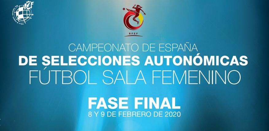 Resultados de las Fases Finales del Campeonato de España de Selecciones Autonómicas de Fútbol Sala Femenino