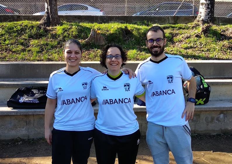 O Fisgón Futsal visita varios centros educativos de Moaña promocionando el fútbol sala