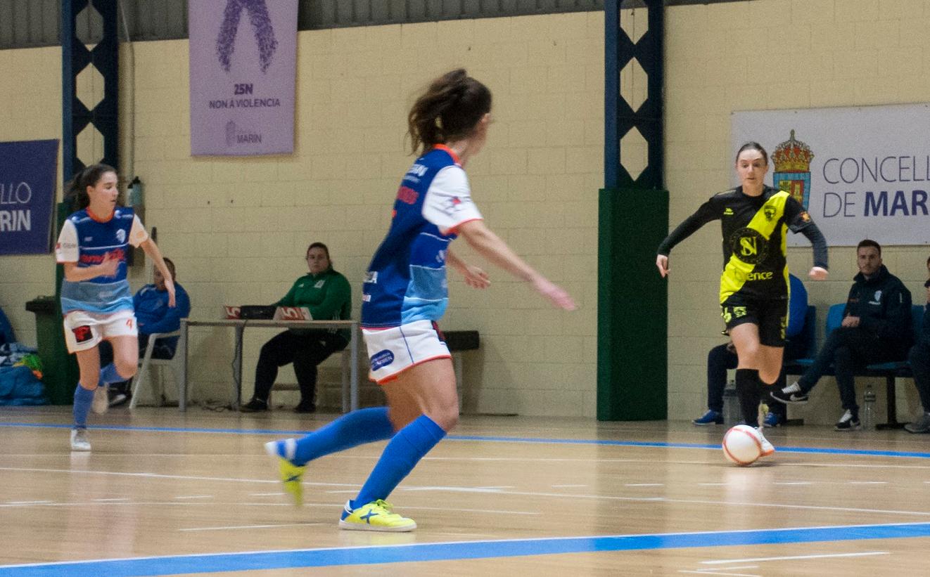 Crónica: EDF Logroño - O Fisgón Futsal. Jornada 15ª. Grupo 1º. 2ª División Fútbol Sala Femenino