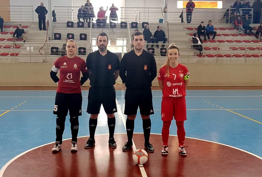 Crónica: Almagro FSF - Preconte Telde. Jornada 18ª. Grupo 4º. 2ª División Fútbol Sala Femenino