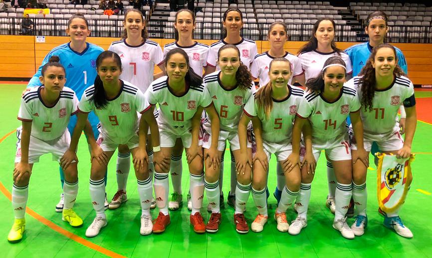 La Selección Española Sub 19 pierde su primer amistoso frente a Portugal