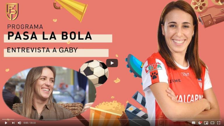 Entrevista a Gaby, jugadora de Futsi Atlético Navalcarnero FS