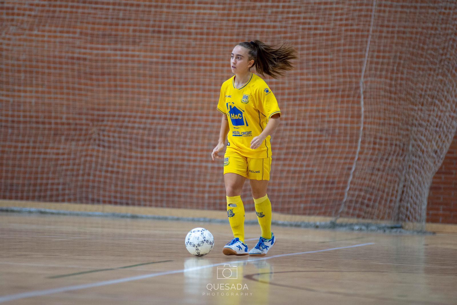 Irene Samper (Jugadora de AD Alcorcón FSF)