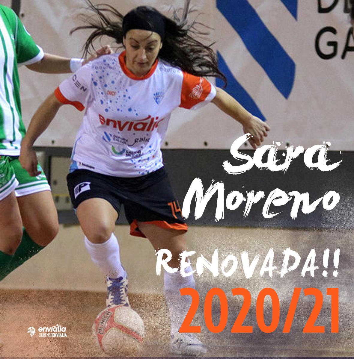 Sara Moreno renueva una temporada más con Ourense Envialia FSF