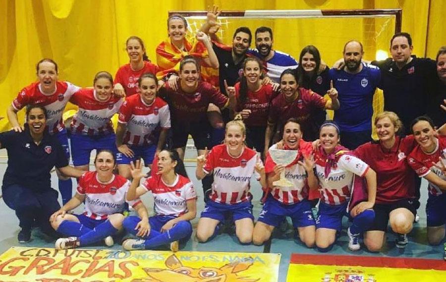 El Campeón de Liga de Primera División de Fútbol Sala Femenino se decidirá en Málaga del 26 al 28 de Junio