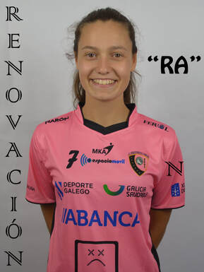 """""""Ra"""" se convierte en la primera jugadora del primer equipo de Comarcal A Fervenza que sella su continuidad para la Temporada 2020-2021"""
