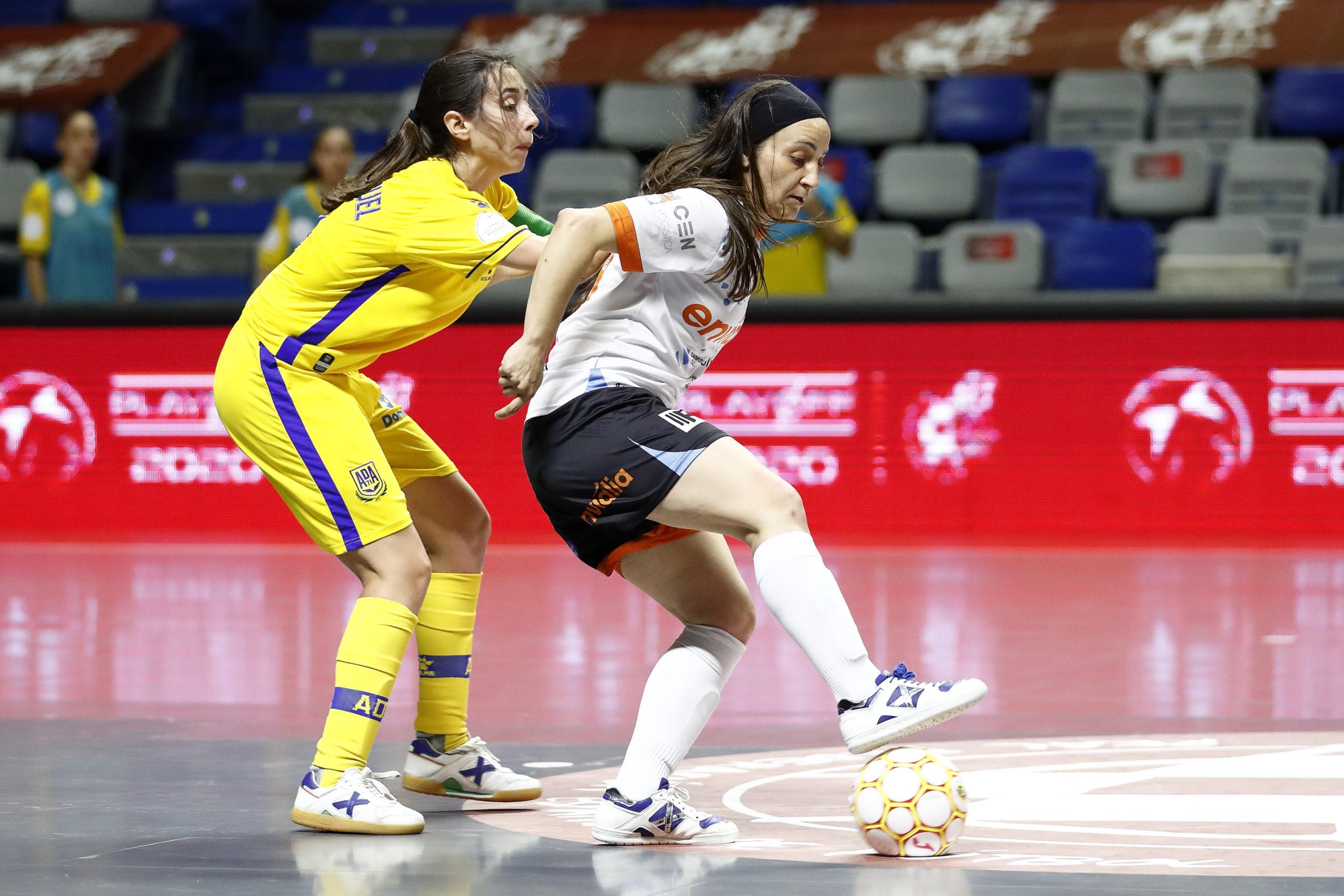 La gran final del fútbol sala femenino contará con la AD Alcorcón (3-3) (6-7)