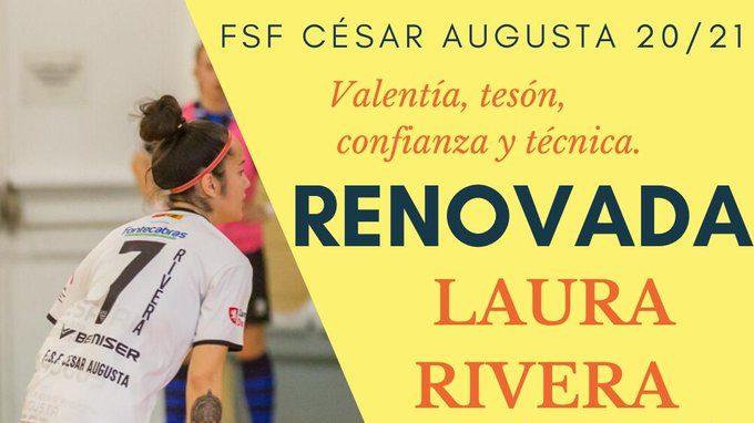 F.S.F. César Augusta presenta más novedades para la Temporada 2020/2021