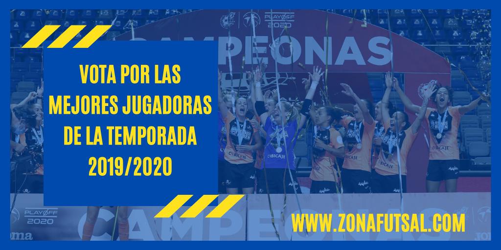 Vota por las Mejores Jugadoras de Fútbol Sala de la Temporada 2019/2020