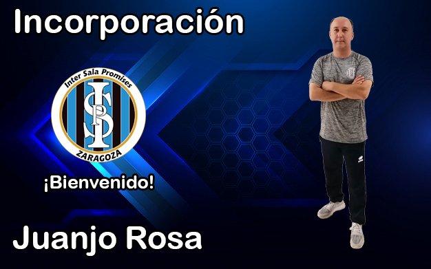 Juanjo Rosa, nombrado entrenador del filial de Intersala Promesas en 2ª División
