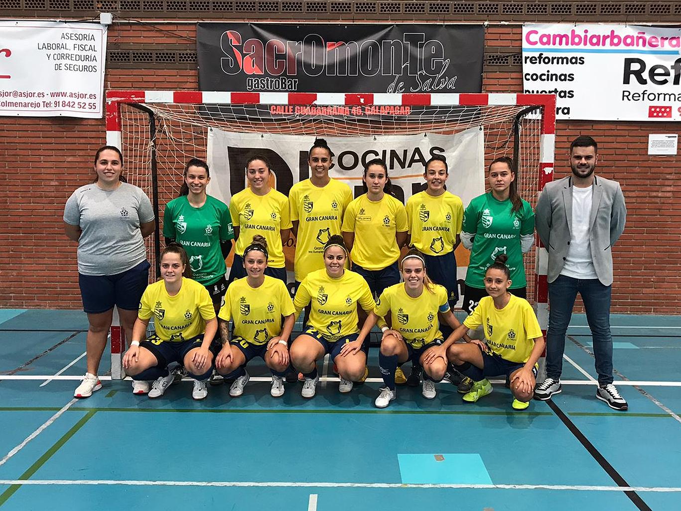 """Previa del Partido: Gran Canaria Teldeportivo """"B"""" - CD Leganés FS """"B"""""""