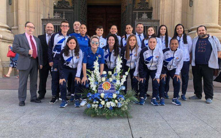 Sala Zaragoza realizará la habitual visita a la Basílica del Pilar y presentará a su plantilla en el Espacio Ambar