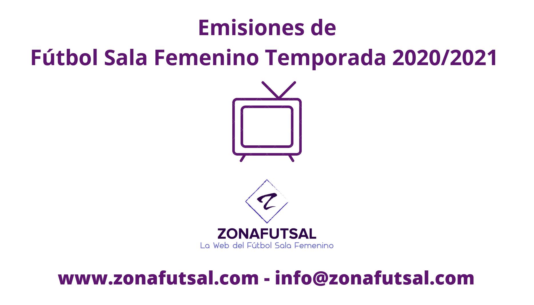 Emisiones de la Jornada 9ª en 1ª División de Fútbol Sala Femenino