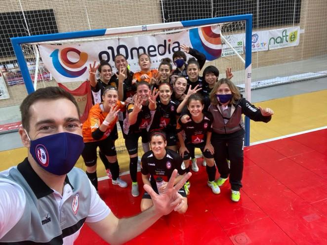 El Rayo Majadahonda FS consigue la victoria a domicilio en buen partido ante Sala Zaragoza