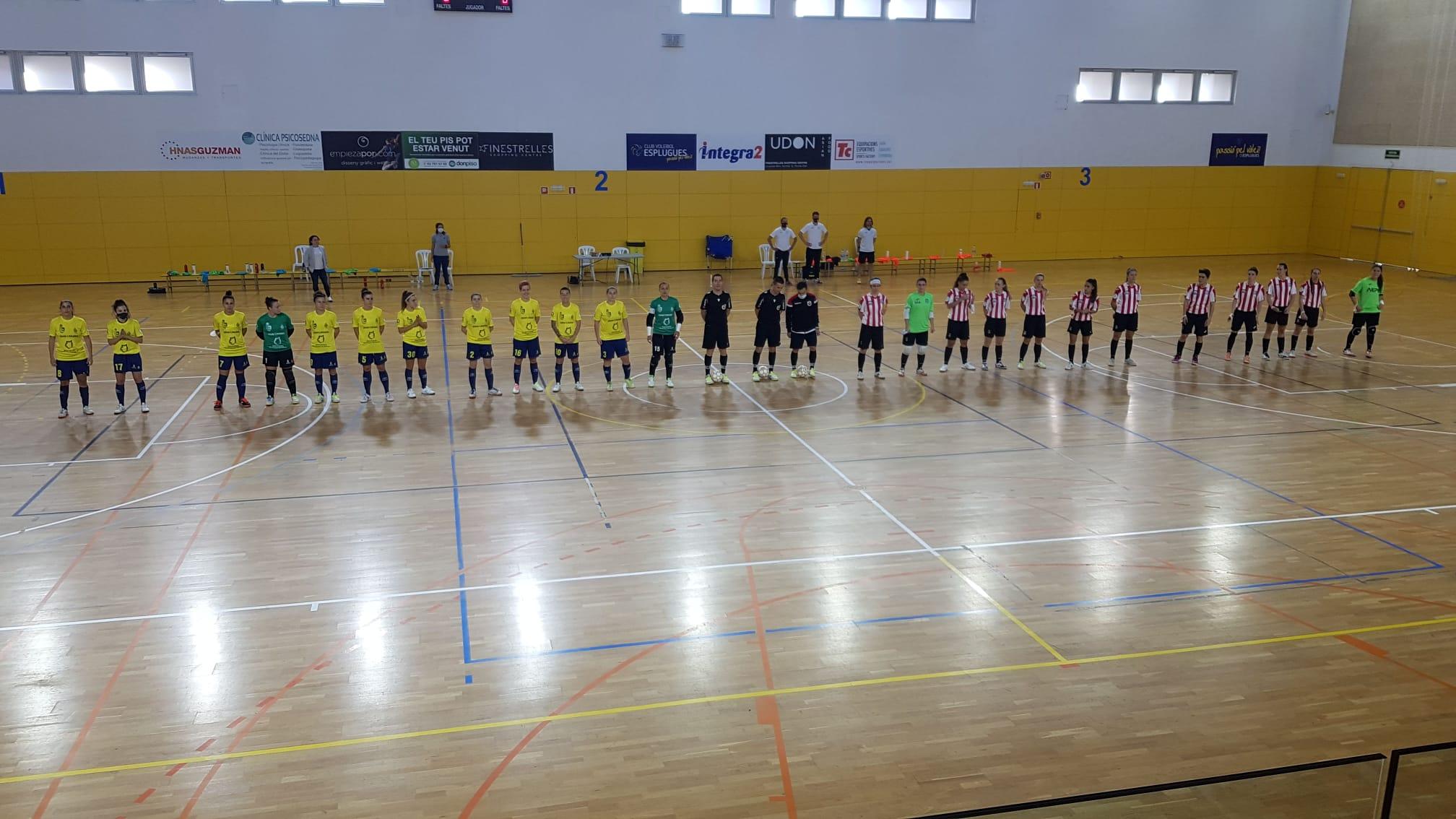 Crónica del Partido: AE Penya Esplugues - Gran Canaria Teldeportivo