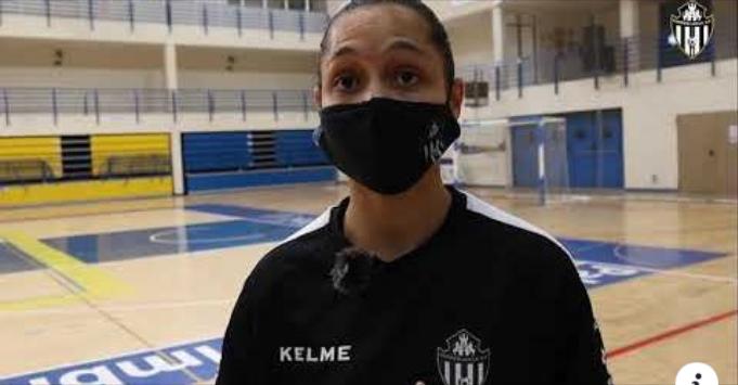 """Fernanda (Jugadora de MSC Torreblanca Melilla FS): """"No veo el momento de debutar"""""""
