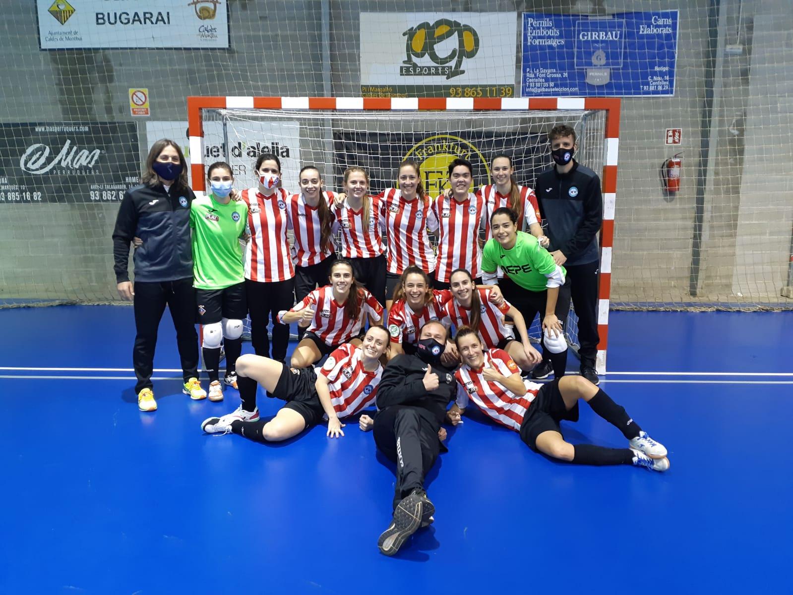 Crónica del Partido: CN Caldes - AE Penya Esplugues La Penya Esplugues gana a Caldes (0-4) y avanza con paso firme en la Copa de la Reina
