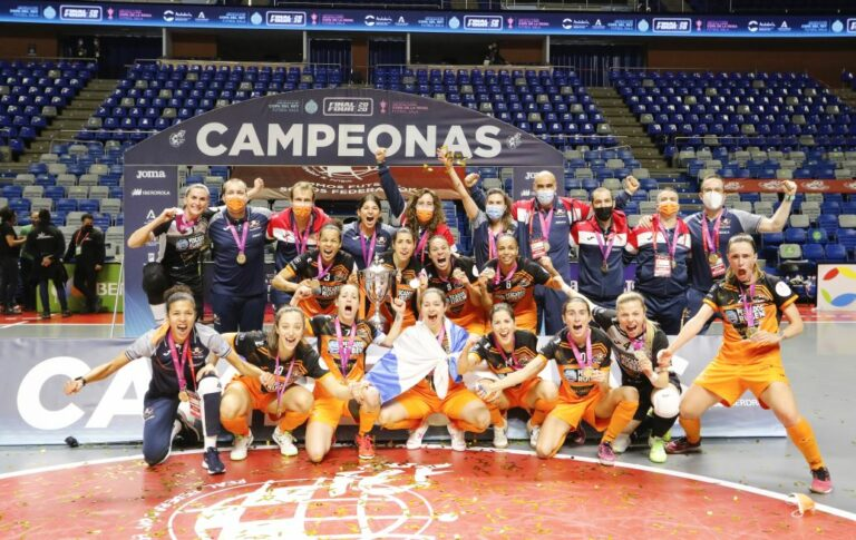 Pescados Rubén Burela, galardonado como Mejor Club Femenino en los FutsalPlanet Awards 2020