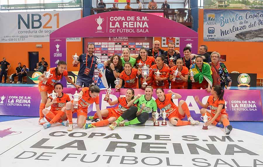 Desde este viernes 18 de Diciembre se va a disputar en Málaga la Fase Final de la Copa de la Reina de Fútbol Sala Femenino correspondiente a la Temporada 2019/2020