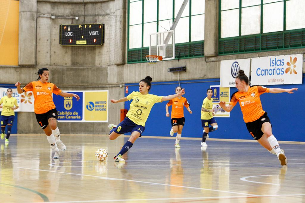 Crónica del Partido: Gran Canaria Teldeportivo - Viaxes Amarelle FSF