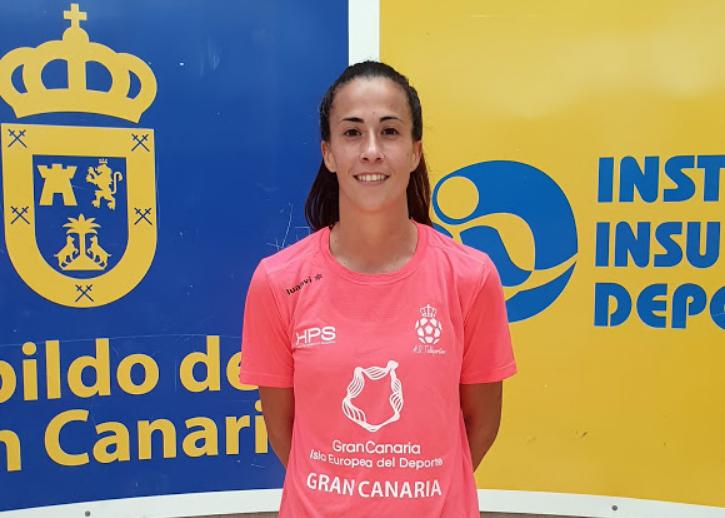 Irina se incorpora a la disciplina del Gran Canaria Teldeportivo