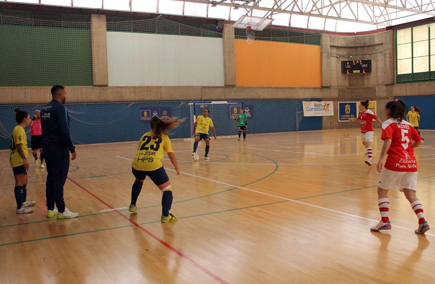 Crónica del Partido: Gran Canaria Teldeportivo B - Colme Futsal