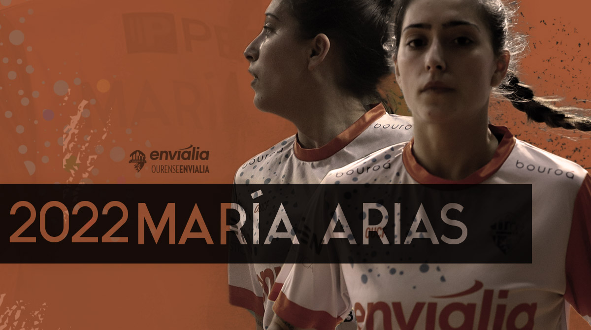 María Arias renueva por Ourense Envialia FSF