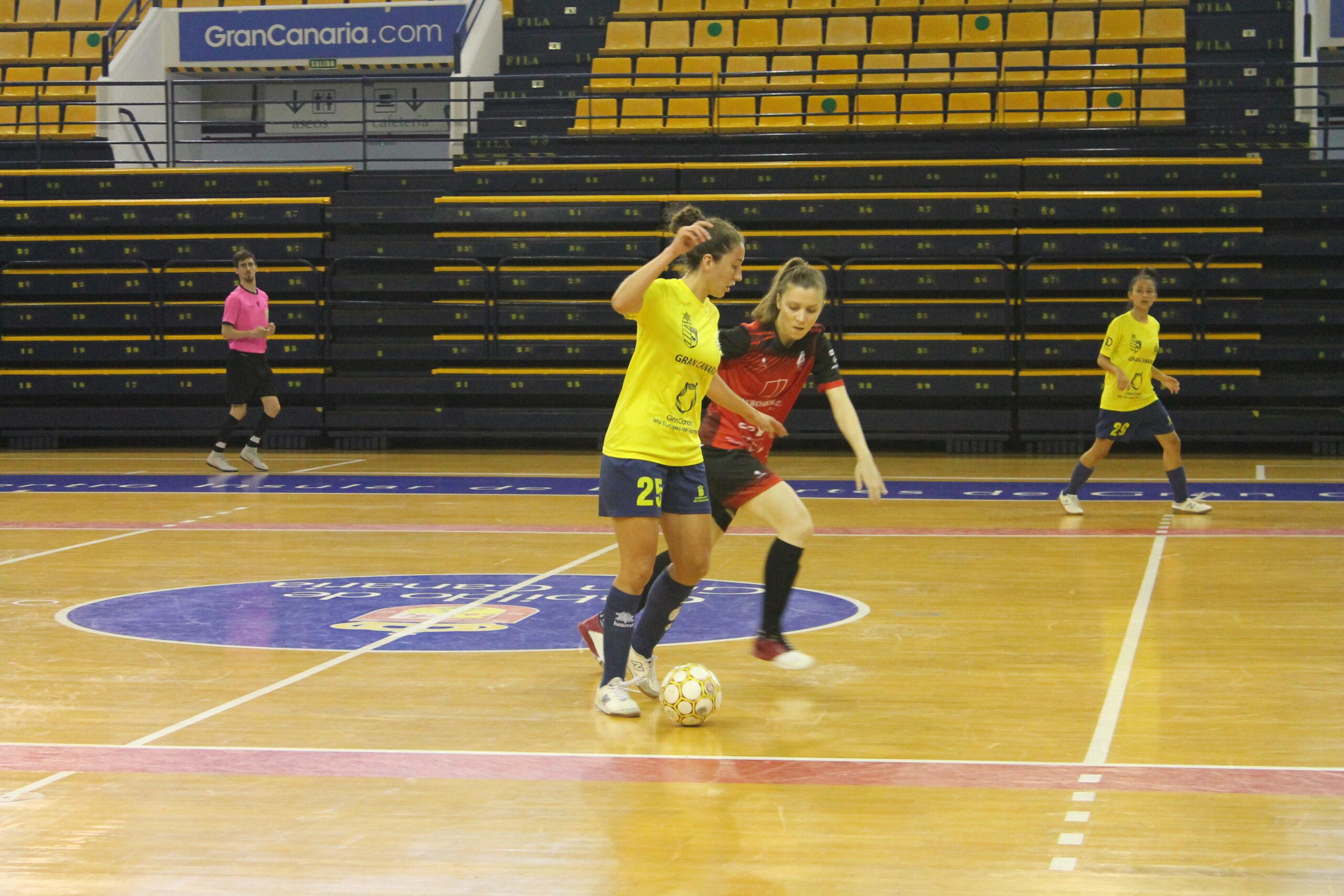 Crónica del Partido: Gran Canaria Teldeportivo B - Villacañas FS