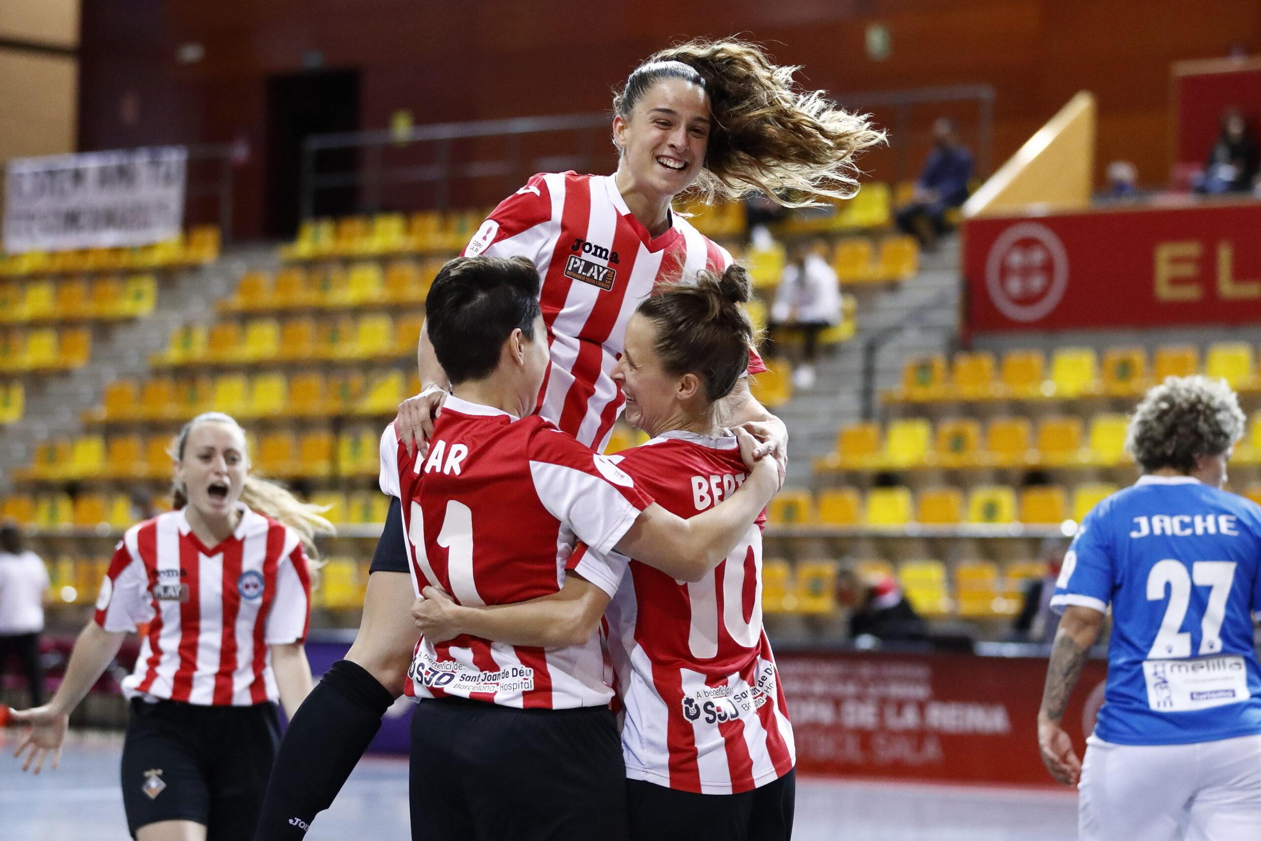 Crónica del Partido de Cuartos de Copa SM La Reina de Fútbol Sala: MSC Torreblanca- AE Penya Esplugues
