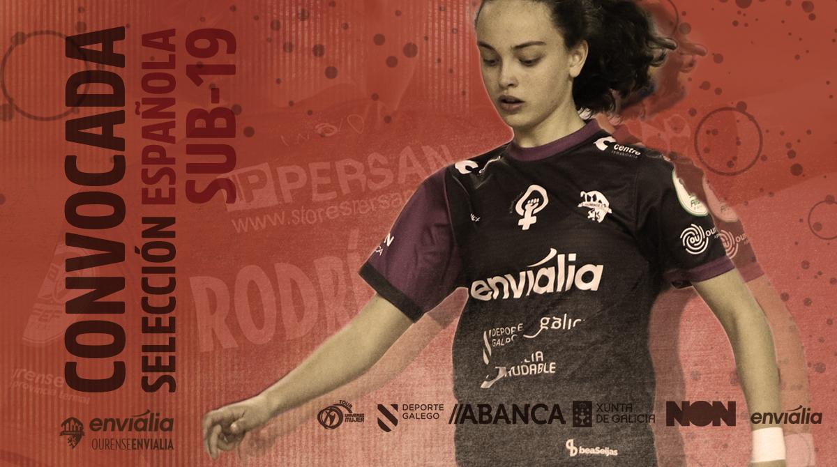 Carmen Carballada, jugadora de Ourense Envialia FSF convocada por la Selección Sub 19