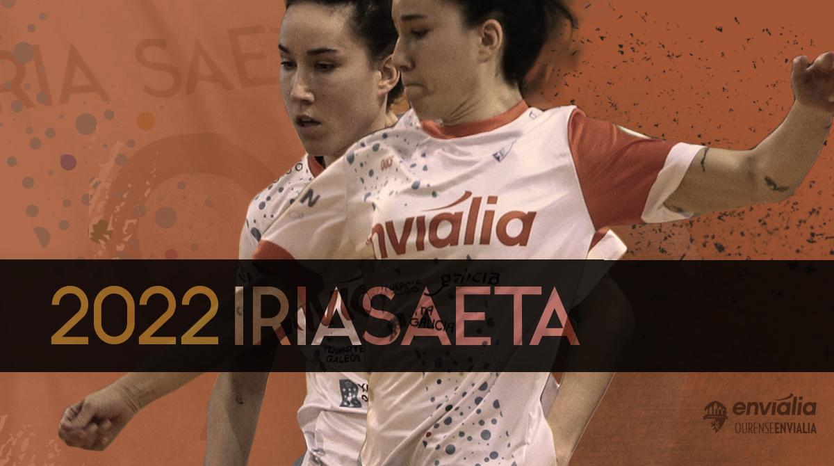 Iria Saeta renueva por Ourense Envialia FSF