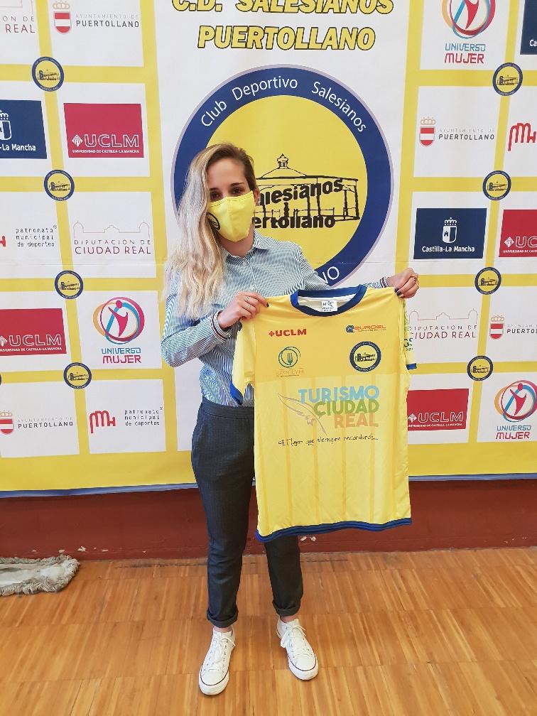Laura Laloma, nuevo fichaje CD Salesianos Puertollano de cara a la Temporada 2021/2022