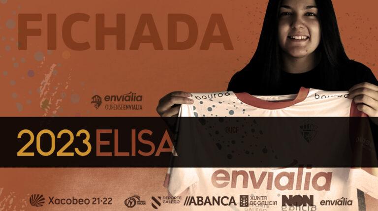 Elisa, portera procedente de Chiloeches FS ficha por Ourense Envialia FSF