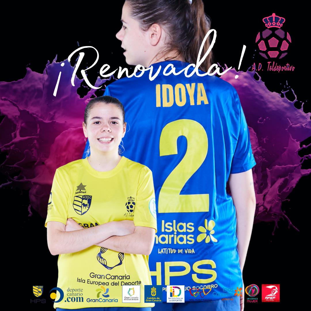 Idoya renueva por Gran Canaria Teldeportivo