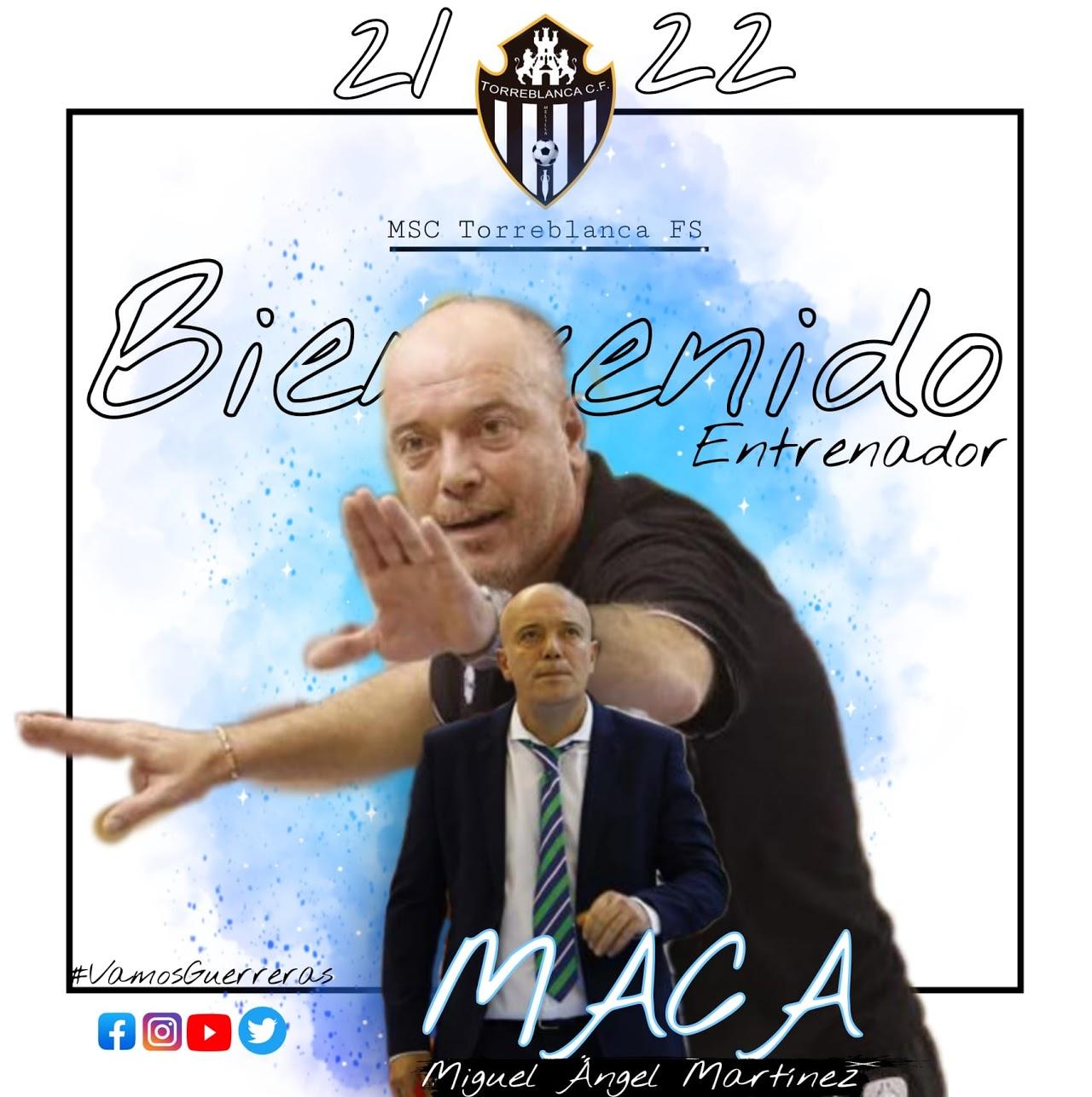Maca, nuevo entrenador de MSC Torreblanca Melilla para la Temporada 2021/2022