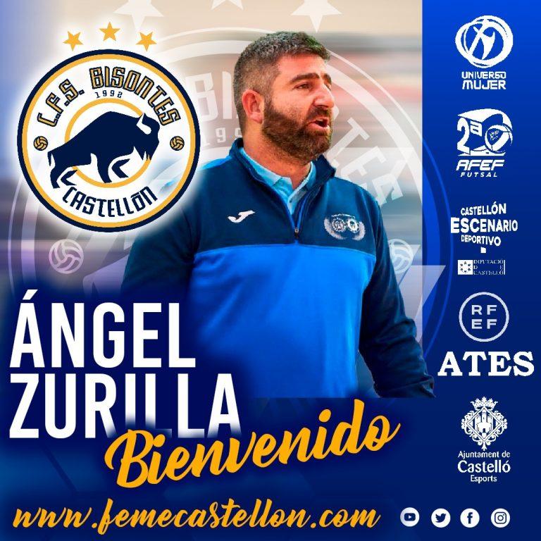 Ángel Zurilla nuevo entrenador de Bisontes Castellón FSF