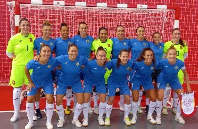 La Selección Española vence a Ad Alcorcón FSF en su primer amistoso