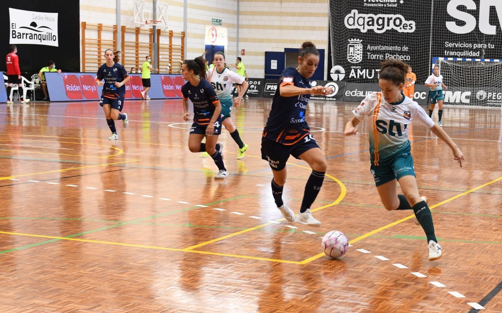 Crónica del Partido de Liga: STV Roldán - Universidad de Alicante FSF. Jornada 1ª