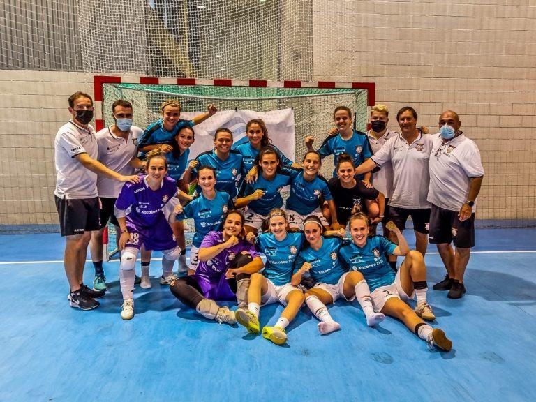 Crónica del Partido de la XV Copa Galicia Femenina FS entre el 5 Coruña FSF y el Viaxes Amarelle FSF
