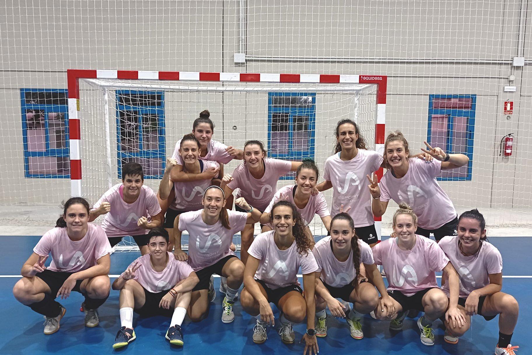 Resumen del Partido: Universidad de Alicante - Rayo Majadahonda FS. 1ª División. Jornada 2ª