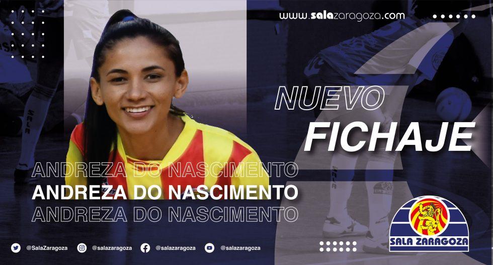 Andreza nueva jugadora de Sala Zaragoza