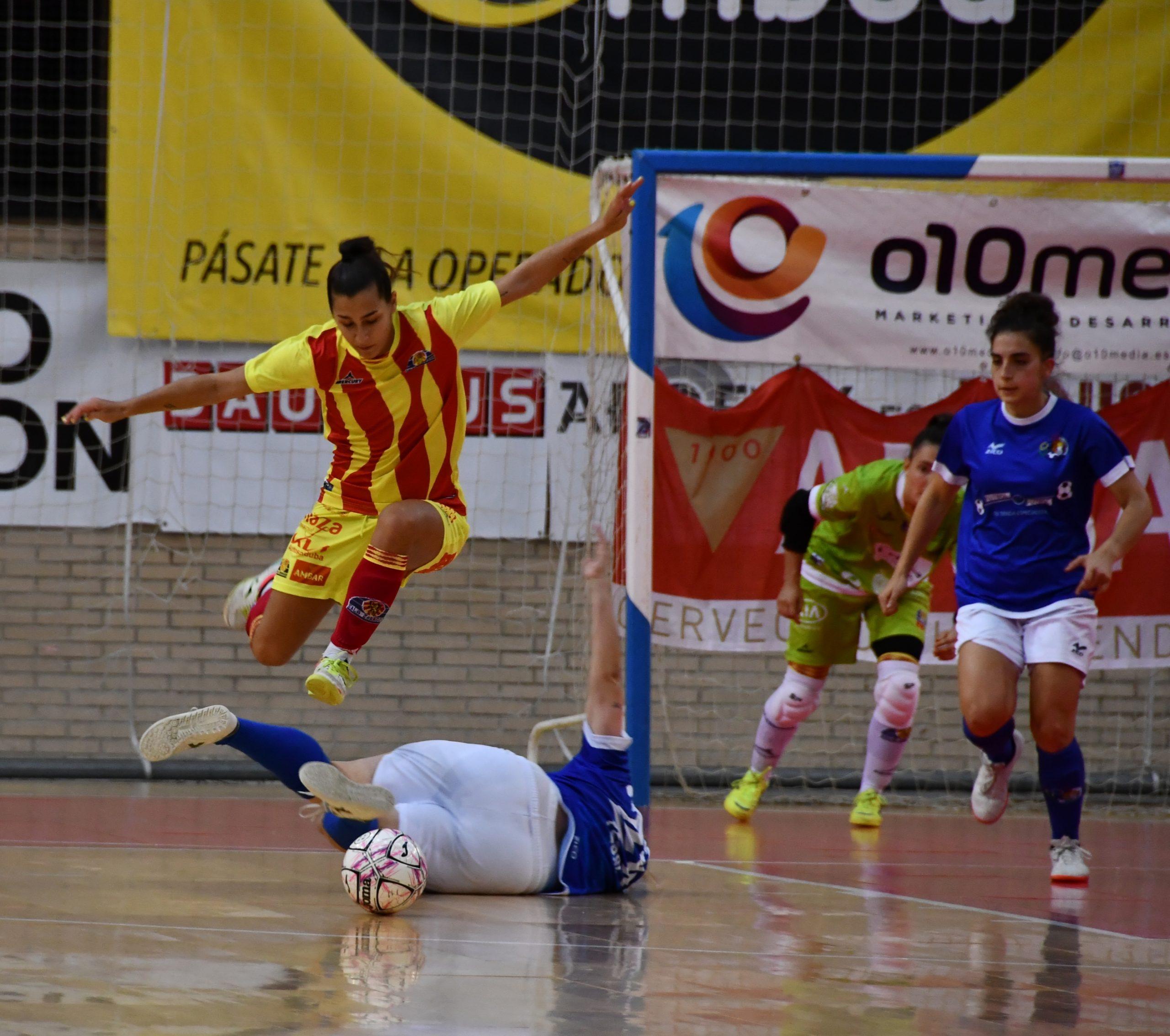 Sala Zaragoza pierde a Clara Rodríguez por lesión de larga duración