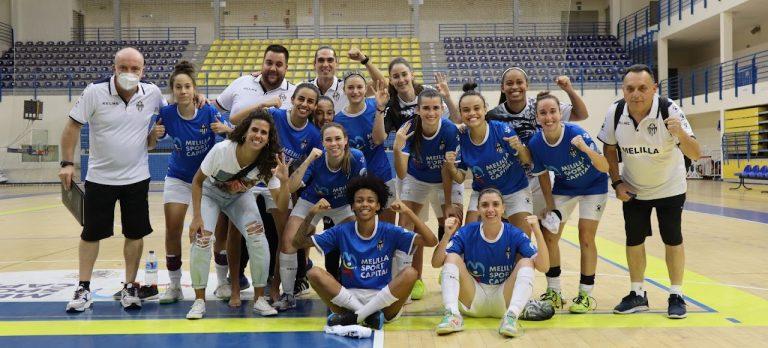 Resumen del Partido: MSC Torreblanca Melilla - Ence Marín Futsal. 1ª División. Jornada 2ª
