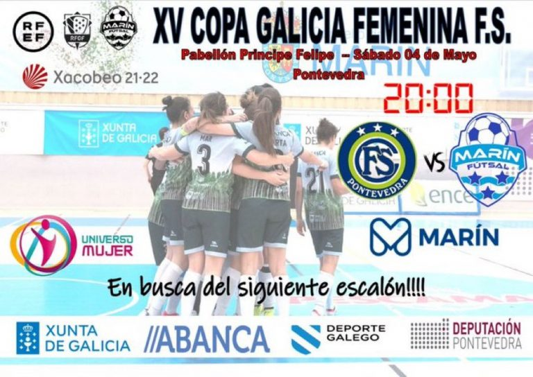 Previa del Partido: Marín Futsal - FS Cidade de Pontevedra