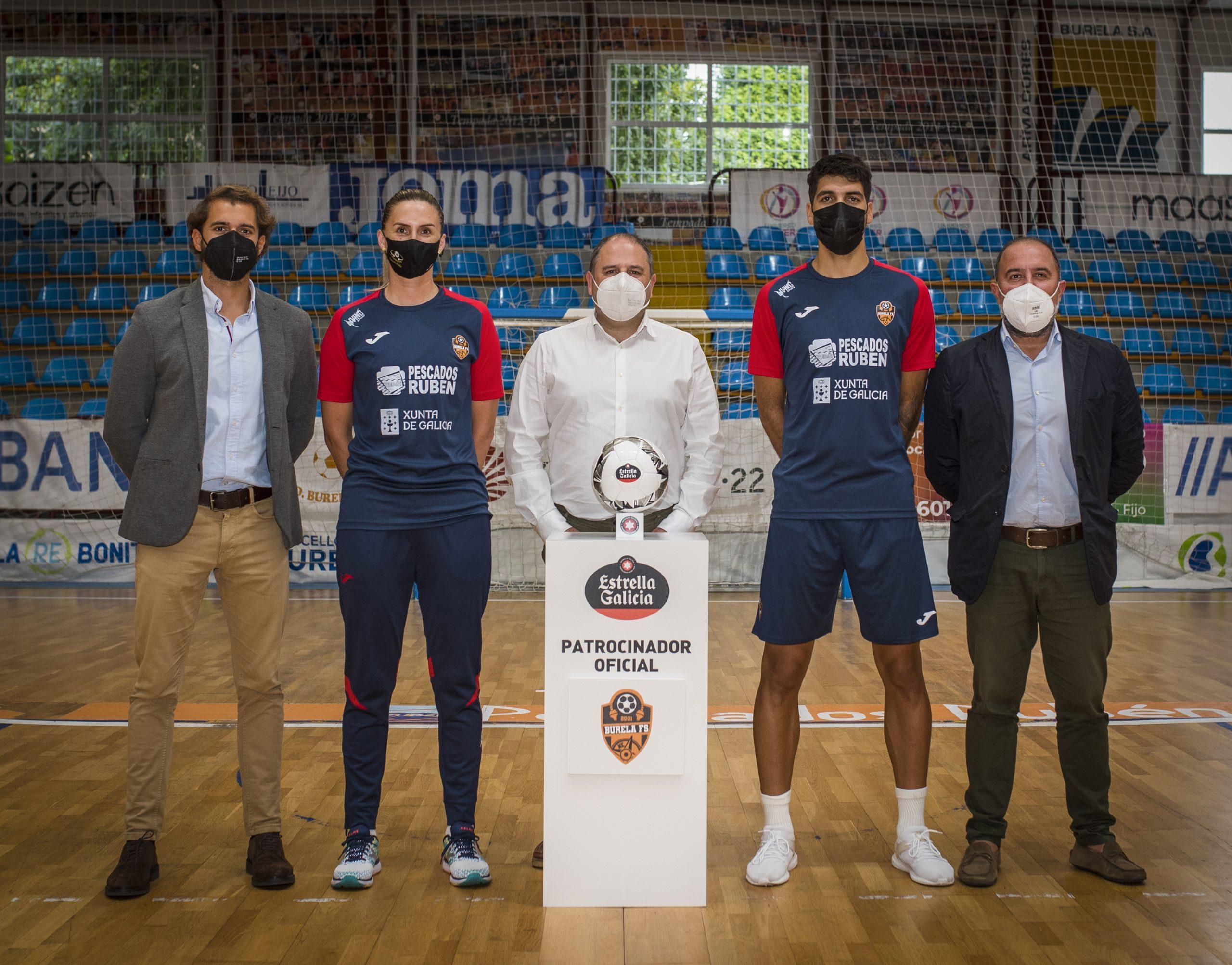 Estrella Galicia anuncia el patrocinio del Burela FS
