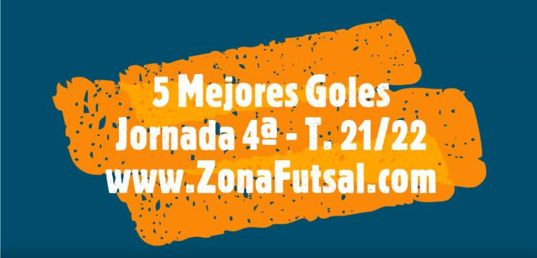 Mejores Goles de la 4ª Jornada de Fútbol Sala Femenino. Temporada 2021/2022