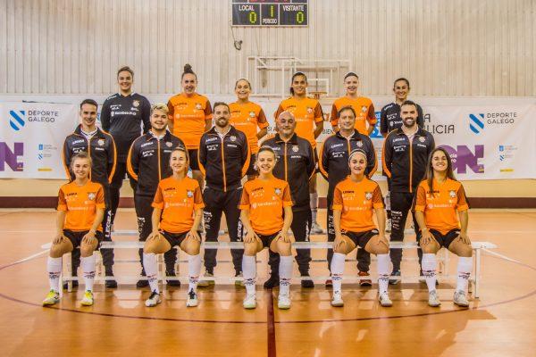 Crónica del Partido de la Liga de 2ª División: Viaxes Amarelle FSF - 5 Coruña FSF. Jornada 2ª