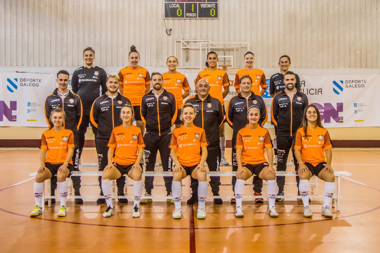 Crónica del Partido de la Liga de 2ª División: Viaxes Amarelle FSF – 5 Coruña FSF. Jornada 2ª. Grupo 1º