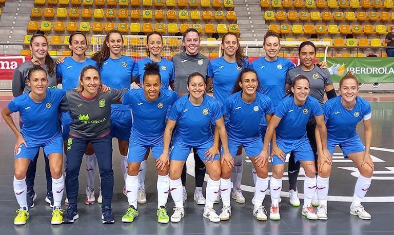 La Selección española femenina de fútbol sala prosigue su trabajo para el Preeuropeo con buenas sensaciones